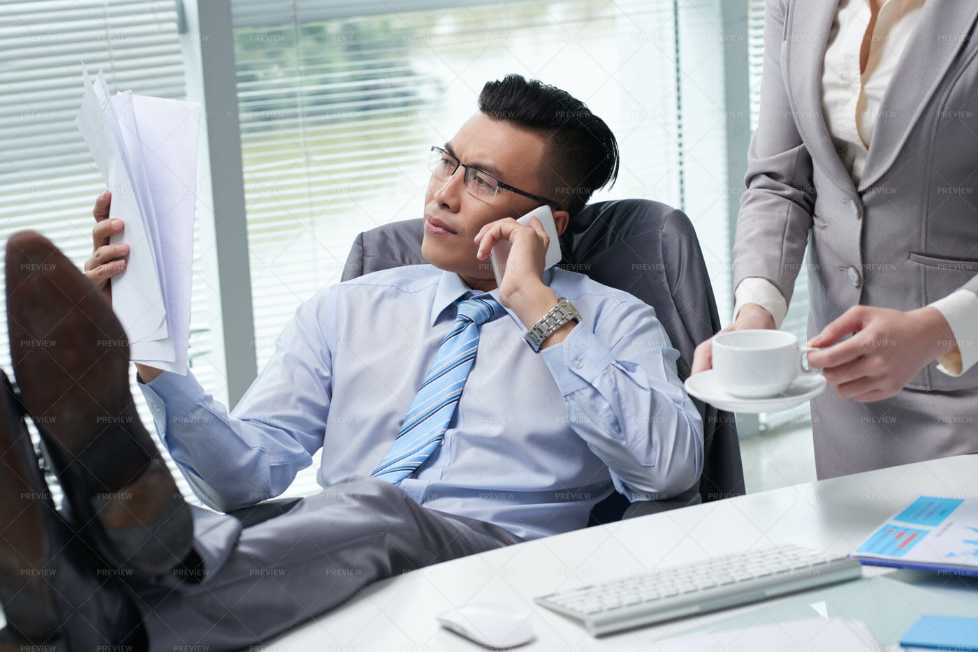 Busy With Work: Stock Photos