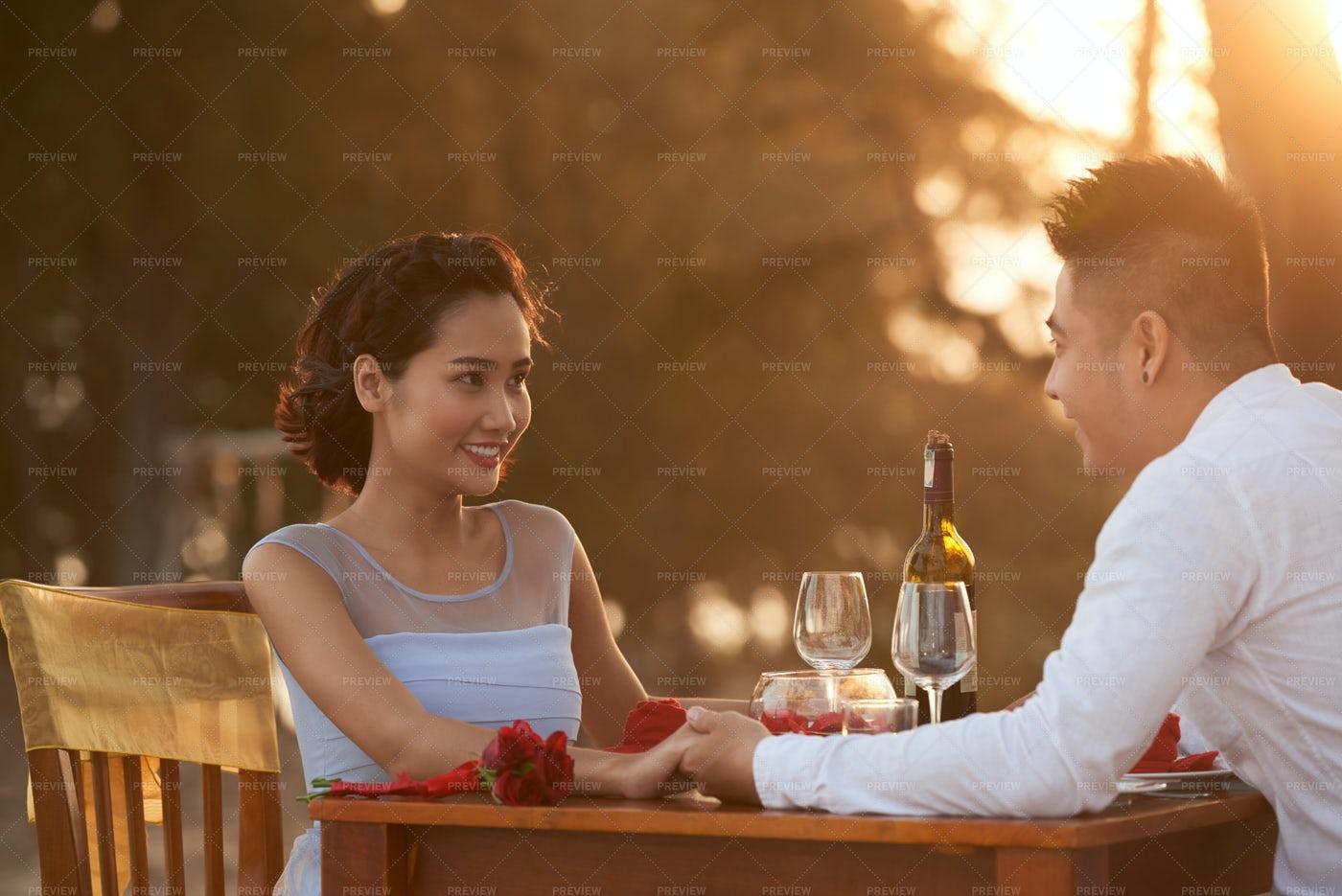 Romantic Date: Stock Photos