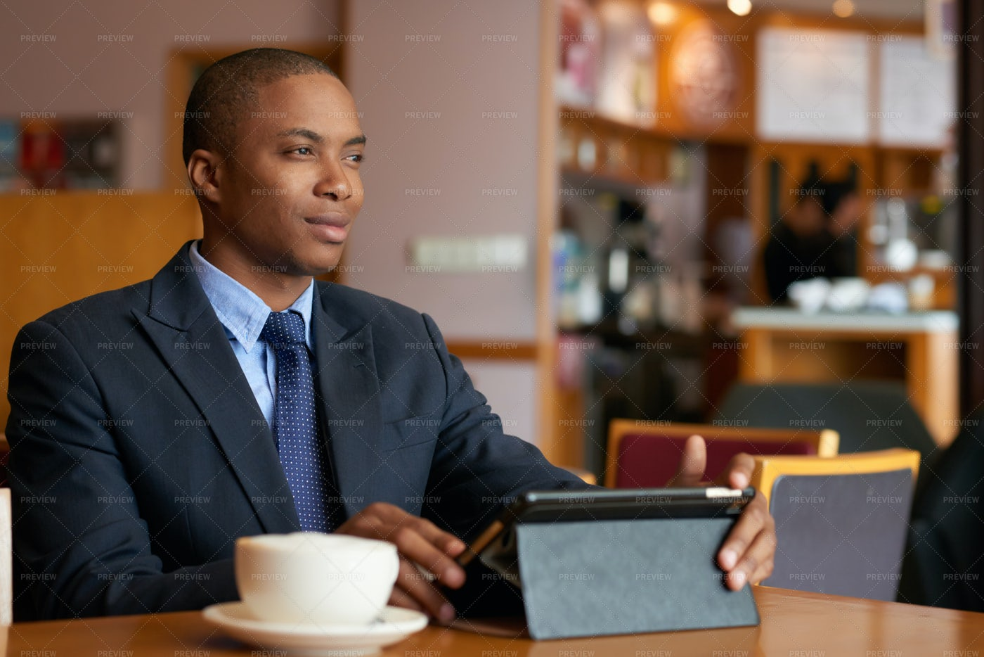 Handsome Young Businessman: Stock Photos