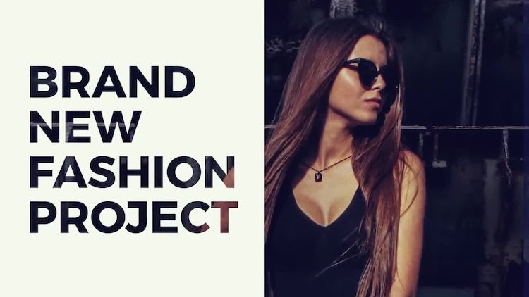 Fashion Slideshow: Premiere Pro Templates