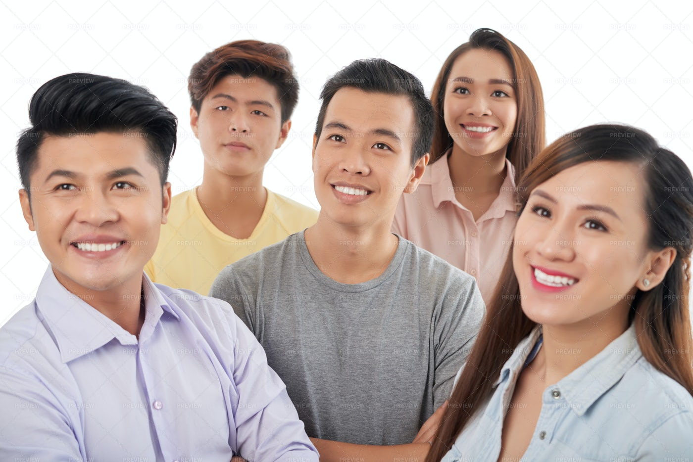 Cheerful Young People: Stock Photos