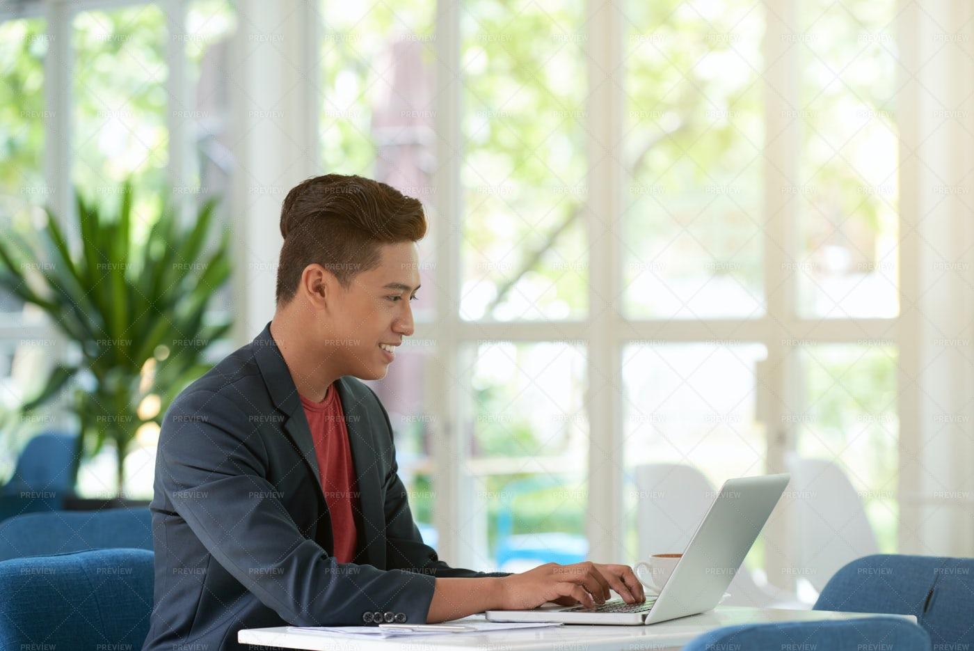 Successful Asian Entrepreneur...: Stock Photos