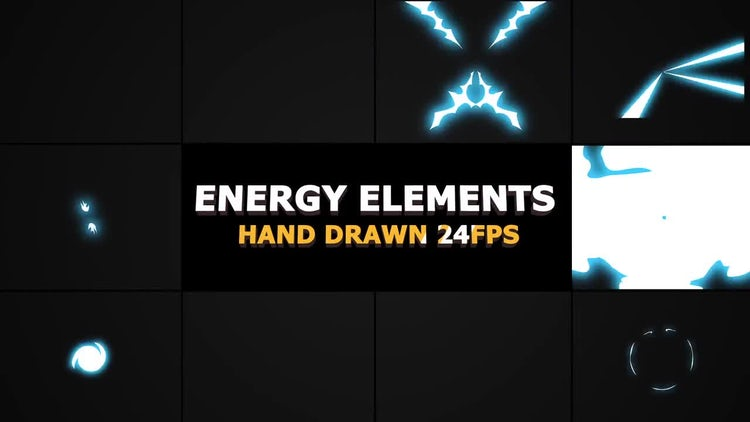 Flash FX ENERGY Elements And Transitions: Motion Graphics