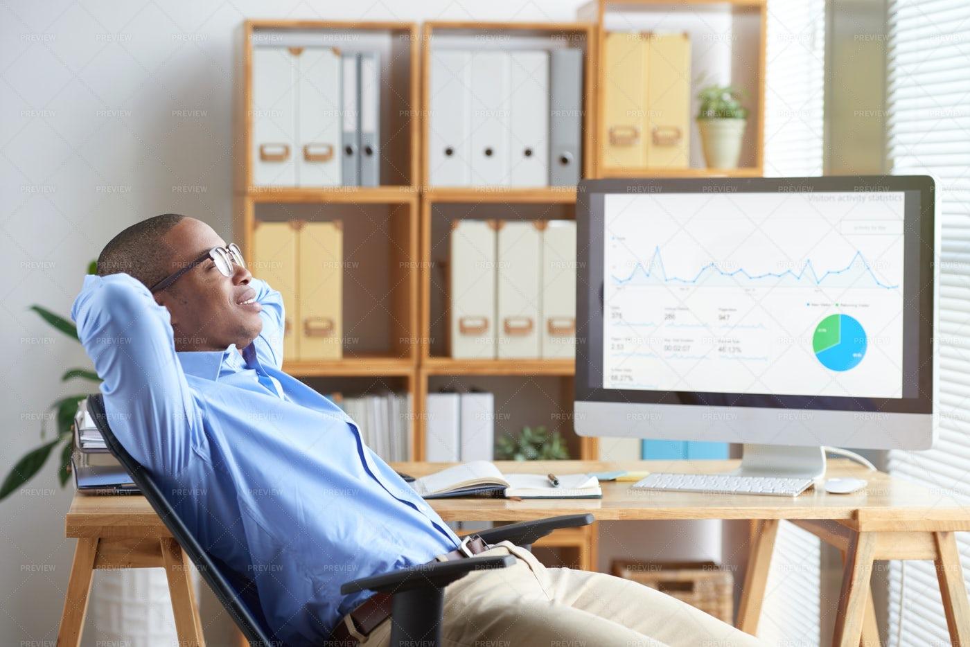 Resting Businessman: Stock Photos