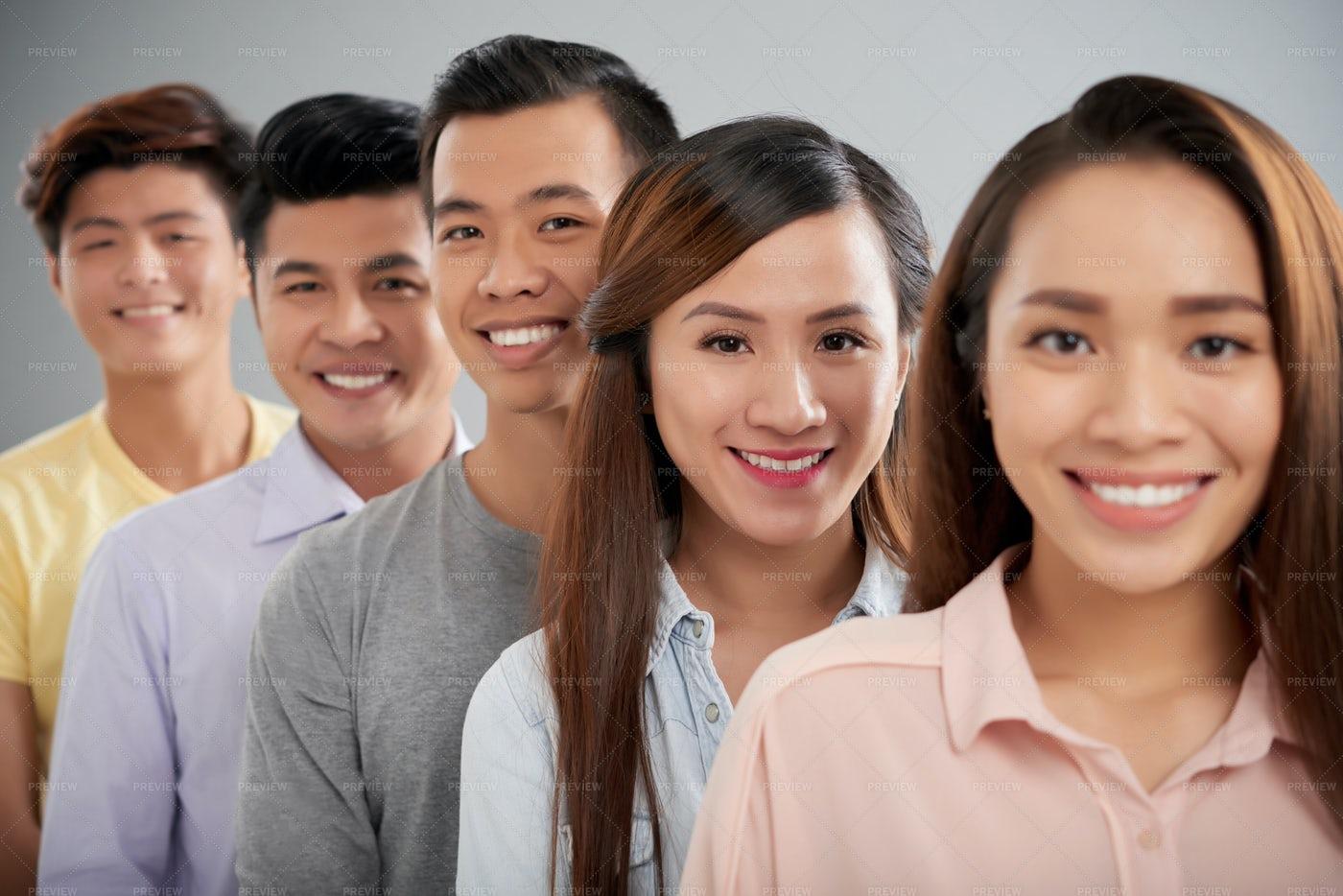 Young Asian People: Stock Photos