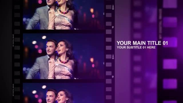 Film Strip: After Effects Templates