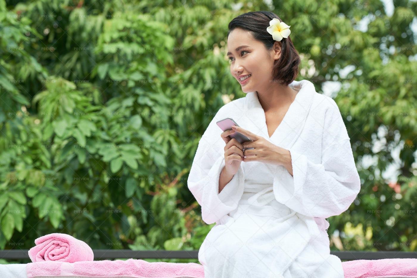 Resting On Spa Resort: Stock Photos