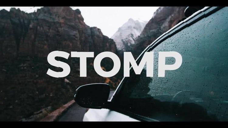 Dynamic Parallax Opener Stomp: Premiere Pro Templates