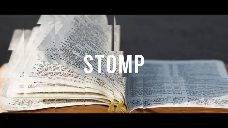 Dynamic Stomp Logo: After Effects Templates
