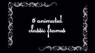 Vintage Animated Frames Pack: Motion Graphics