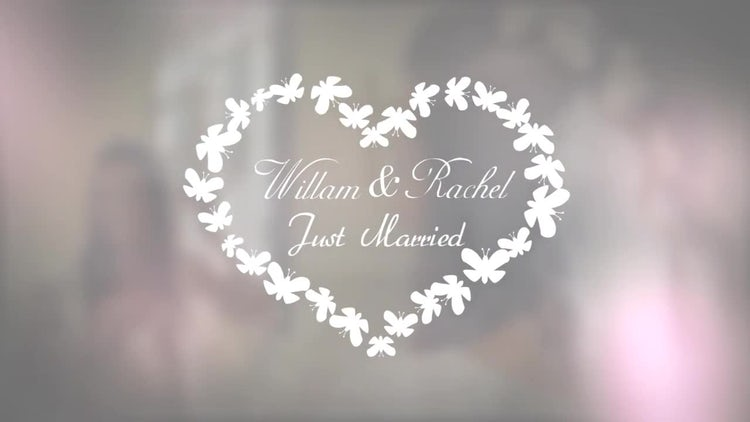 Unique Wedding Titles Pack: After Effects Templates