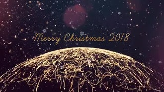 Christmas Logo: After Effects Templates