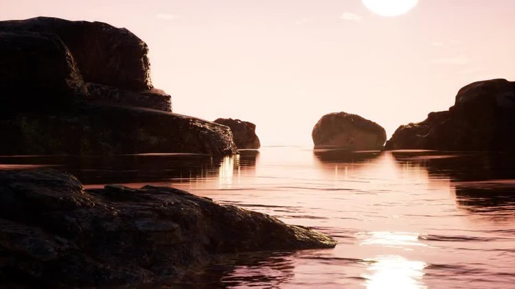 In The Heaven Ocean 3: Stock Motion Graphics