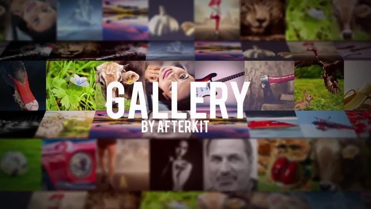 Gallery 3D: After Effects Templates