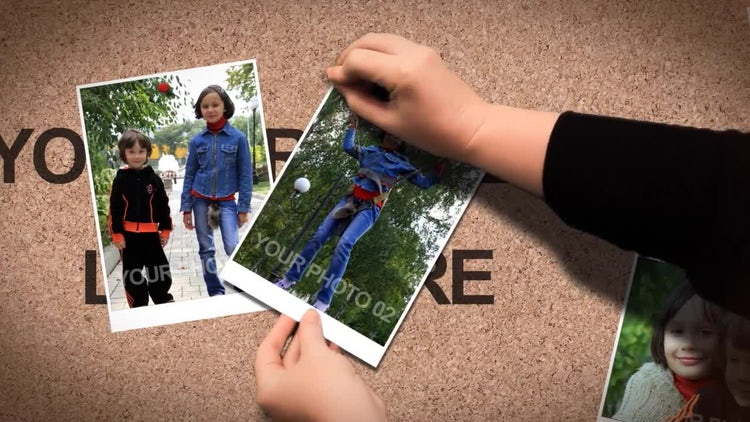 Hands Photo Show: After Effects Templates