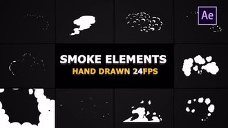 Flash FX Smoke And Transitions: After Effects Templates