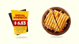 Food Menu: After Effects Templates