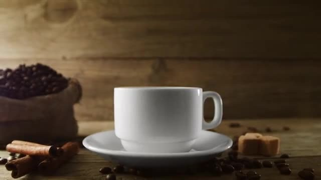 Cup Of Coffee: Stock Video