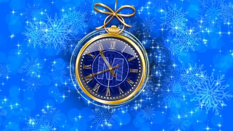New Year S Clock After Effects Templates Motion Array