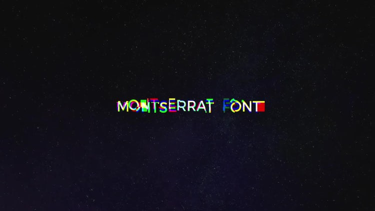 Glitch Text Animator: After Effects Templates