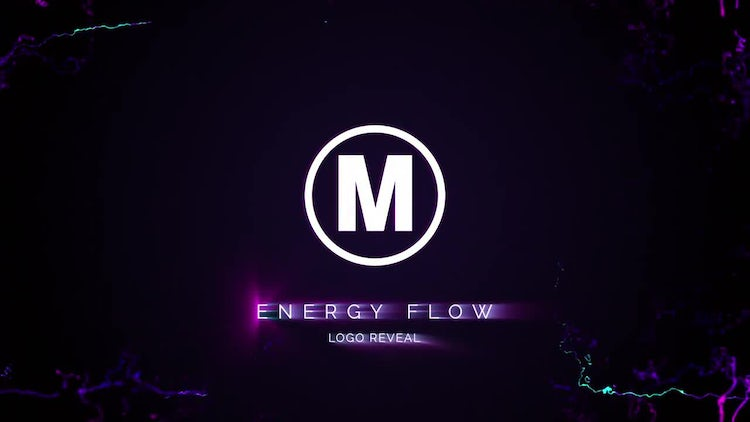Energy Flow Logo Reveal: After Effects Templates