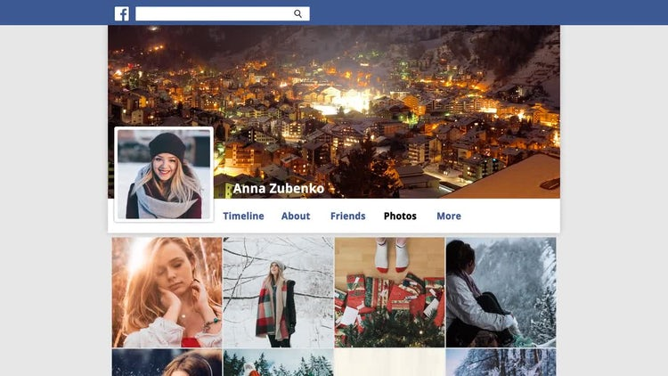Facebook Promo: After Effects Templates