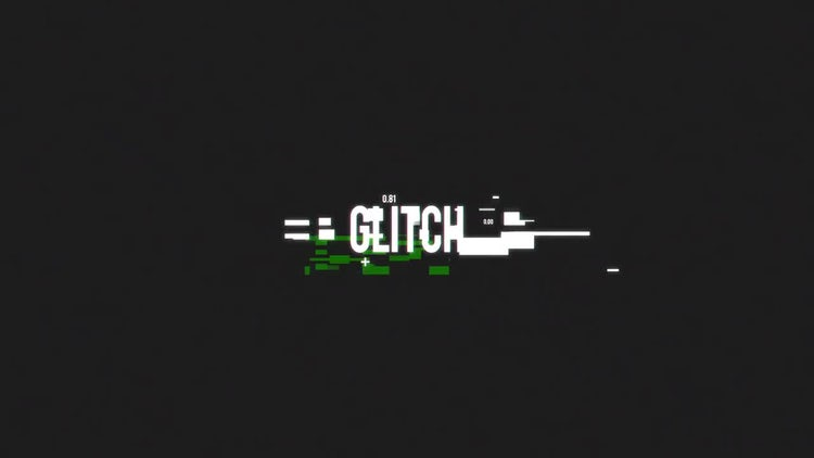 Elegant Glitch Logo: After Effects Templates