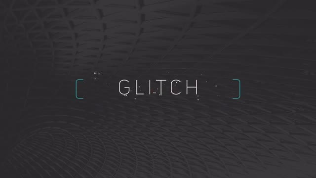 Minimal Glitch Titles: Premiere Pro Templates