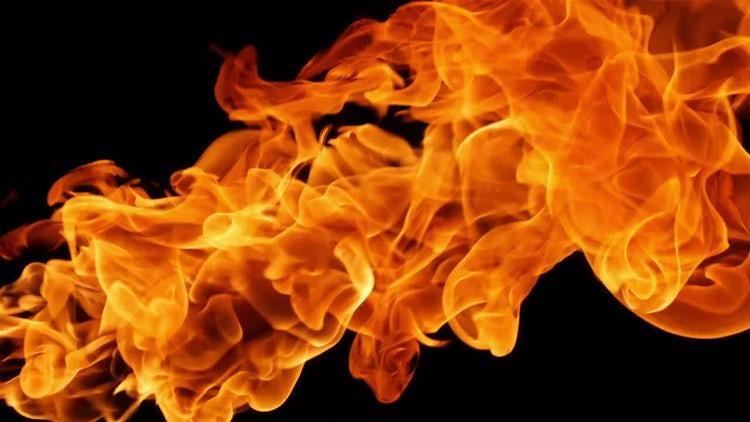 Diagonal Fire: Stock Video