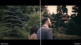 Wedding Color Presets: Premiere Pro Templates
