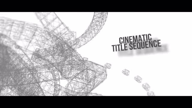Cinematic Title Sequence: After Effects Templates