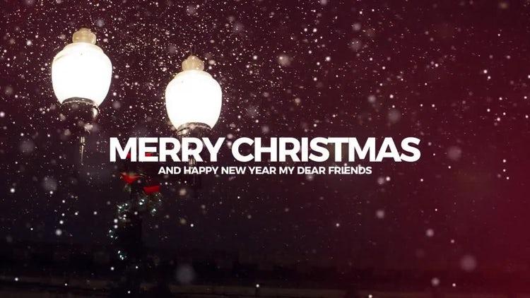 Flip Christmas Slideshow: Premiere Pro Templates