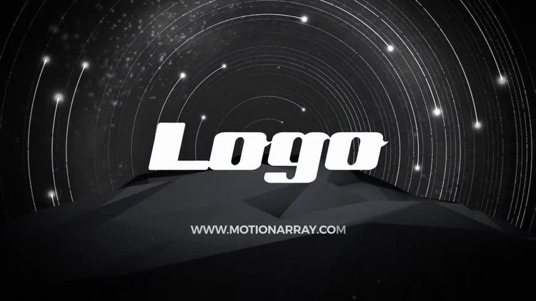 Movement of Stars Logo: After Effects Templates