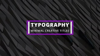 20 Creative Titles: After Effects Templates