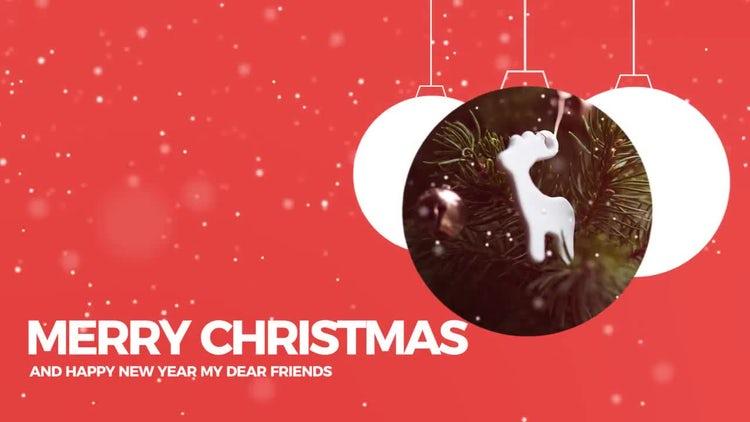 Christmas Ball Slideshow : Premiere Pro Templates