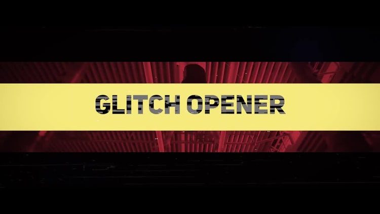 Glitch Intro: Premiere Pro Templates