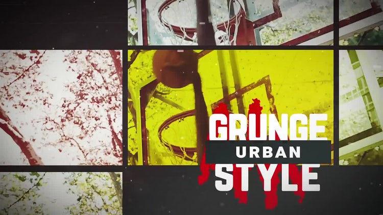 Grunge Opener: After Effects Templates