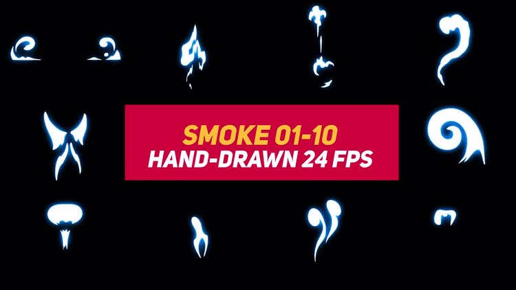 Liquid Elements Smoke 01-10: After Effects Templates