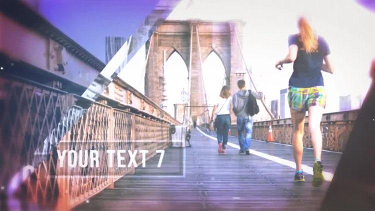 Elegant Glass Slide: After Effects Templates