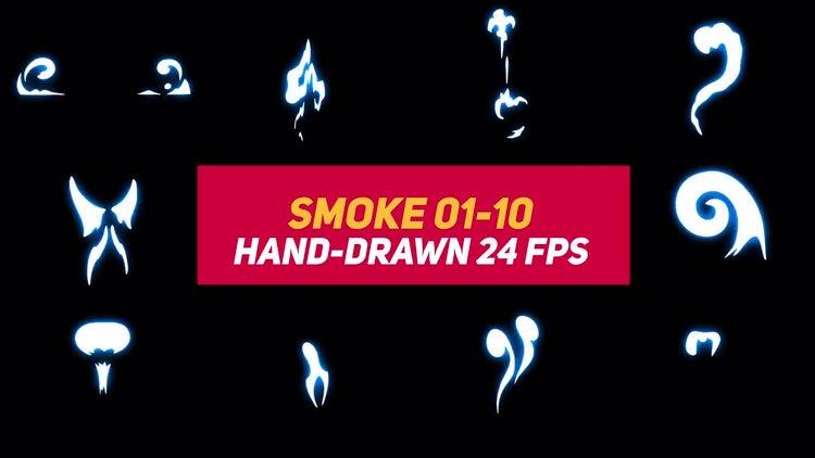 Liquid Elements Smoke 01-10: Motion Graphics