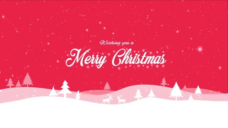 Christmas & New Year Greeting: Motion Graphics Templates