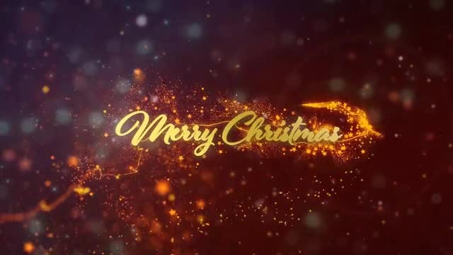 Merry Christmas & Happy New Year: Stock Motion Graphics