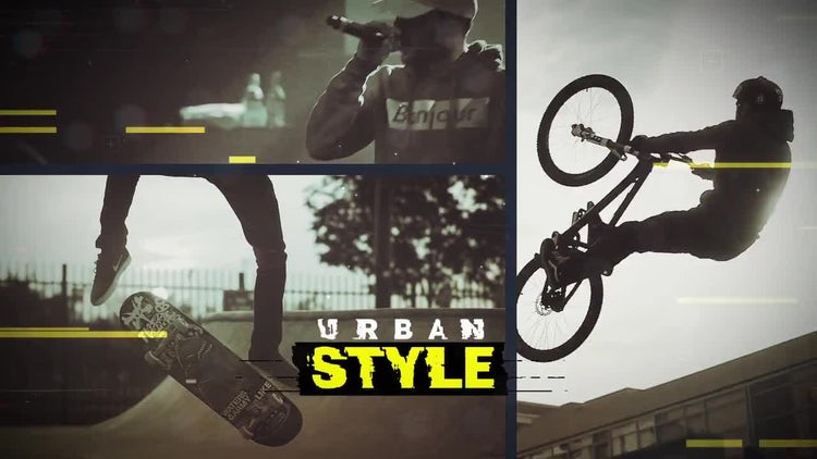 Dynamic Urban Opener: After Effects Templates