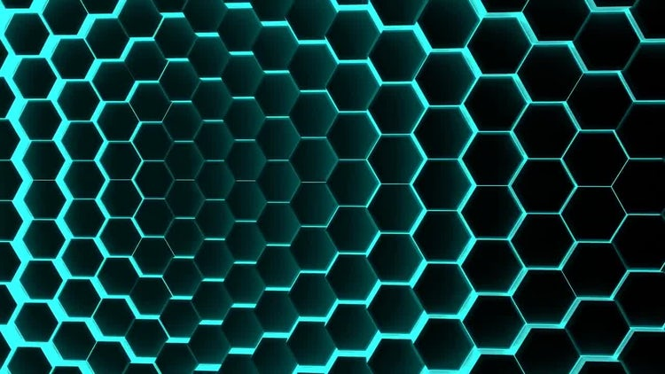 Hexagons Background Stock Motion Graphics Motion Array