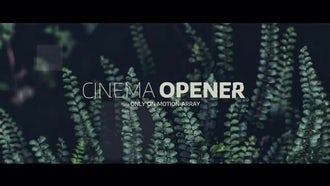 Cinematic Movie Opener: Premiere Pro Templates