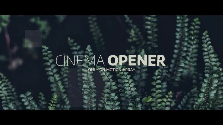 Cinematic Movie Opener: Premiere Pro Templates