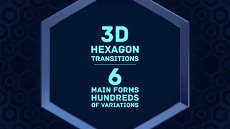 Hexagon Transitions: Motion Graphics