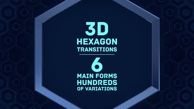 Hexagon Transitions: Stock Motion Graphics