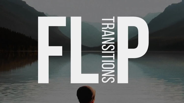 Flip Transitions: Premiere Pro Templates