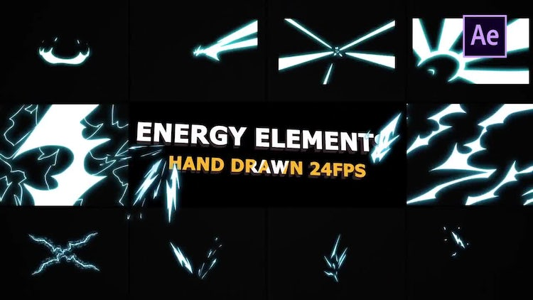 Flash FX Energy  Elements: After Effects Templates